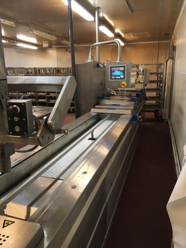 balící stroj ve výrobně MP Krásno