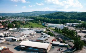 výrobní podnik MP Krásno v Krásně nad Bečvou