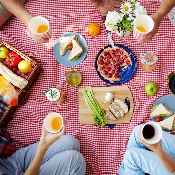K létu patří pikniky v trávě