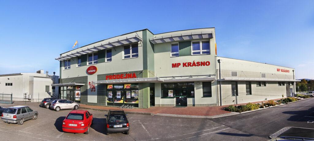 Hlavní budova MP Krásno, a.s.