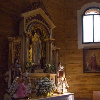 Vo sviatok Panny Márie Korennej