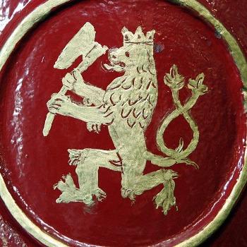 Řeznictví nese ve znaku hrdého českého lva