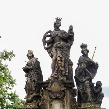 Svätá Margita hádže v júli kosák do žita